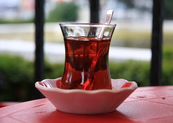 Способ заваривания турецкого чая