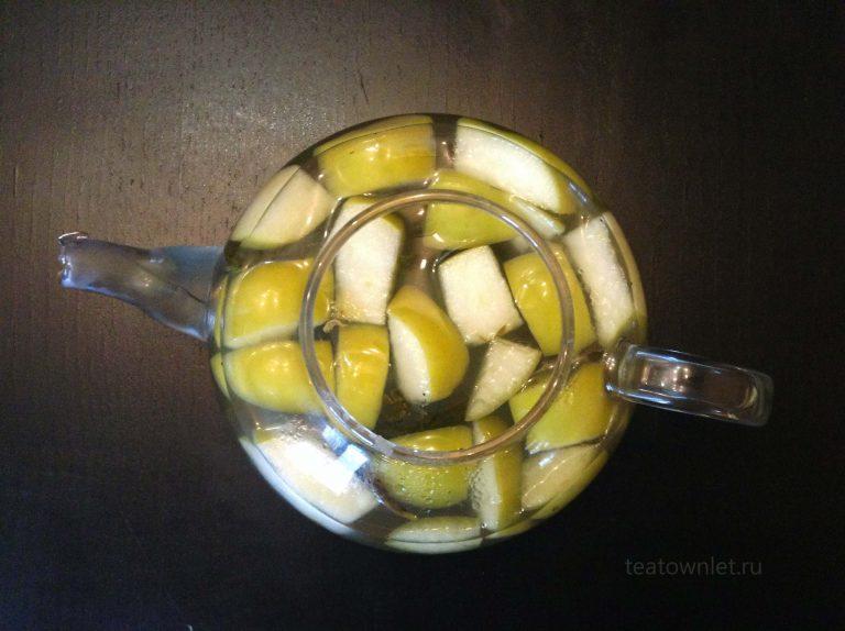 Жасминовый чай с яблочным сидром