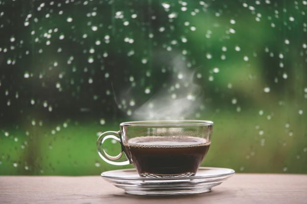 Счастливый чай в дождливую погоду