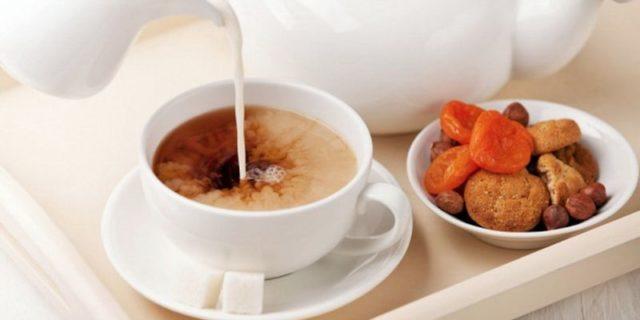 Чай с молоком опасен для здоровья – ученые