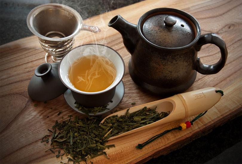 О пользе зелёного чая для организма