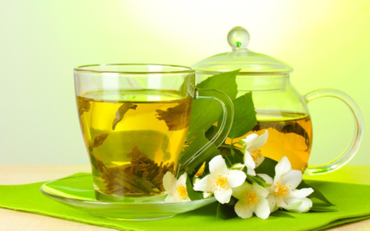 Зеленый чай даже рак тормозит?!
