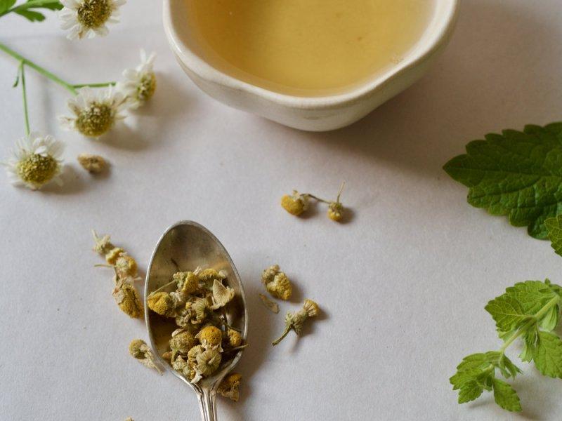 Травяной чай поможет спать крепче по ночам