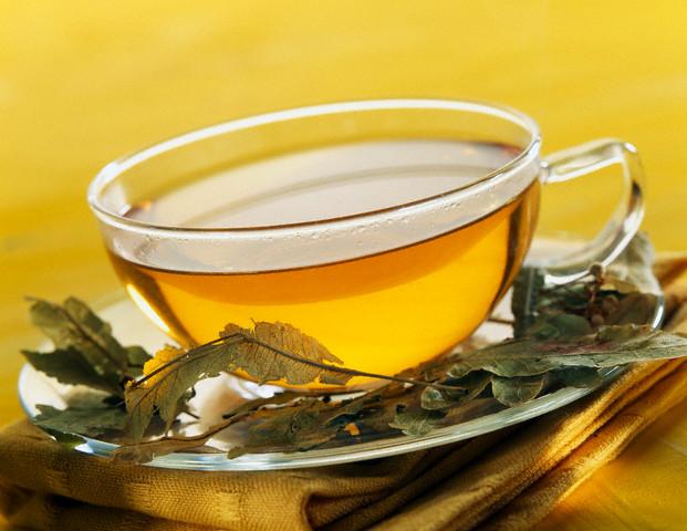 Прожаренный желтый чай