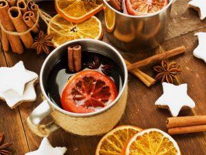 Согревающий кардамоновый чай, нас от холода спасай!