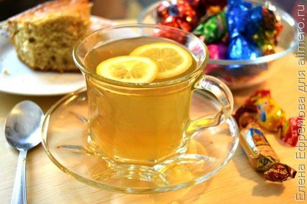 Имбирный чай с рисом