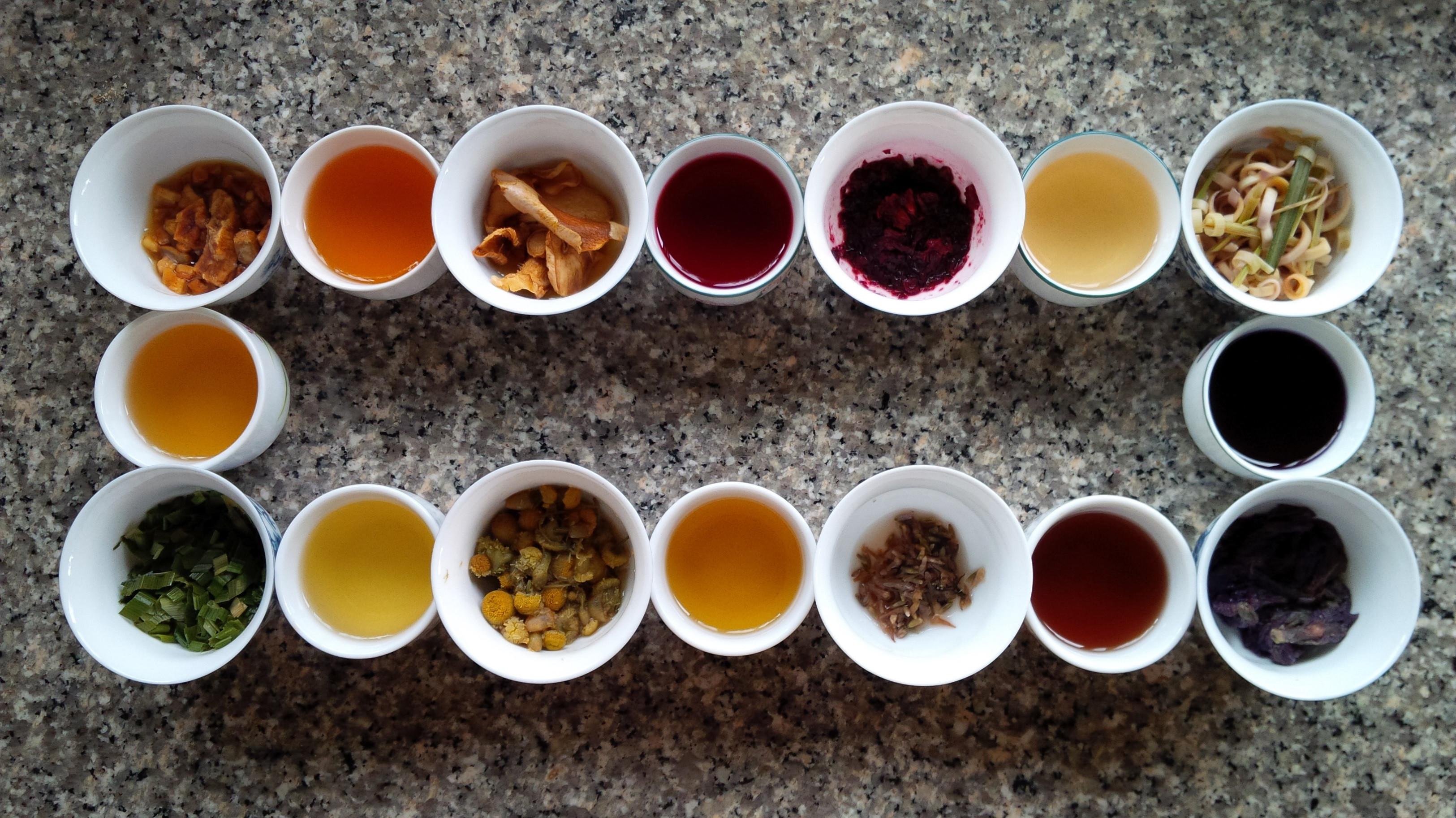 Все цвета чая