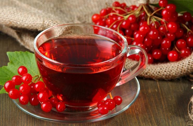 Как приготовить полезный чай с калиной