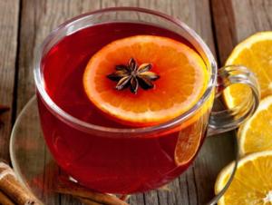 Клюквенный чай