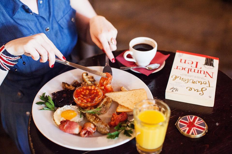 Национальные блюда Великобритании