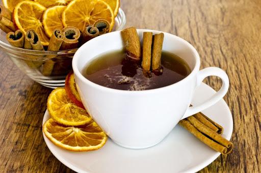 Рецепт пряного чая с медом, апельсином и ромом