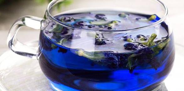 Уникальный тизан «Синие лепестки»