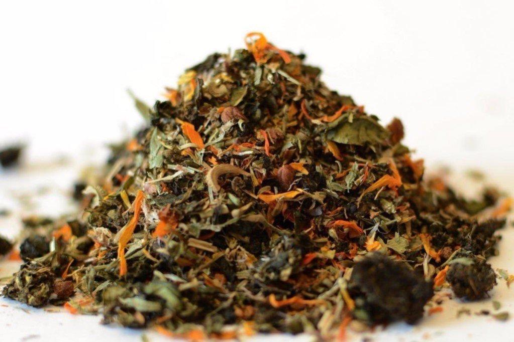 Тибетский чай на травах