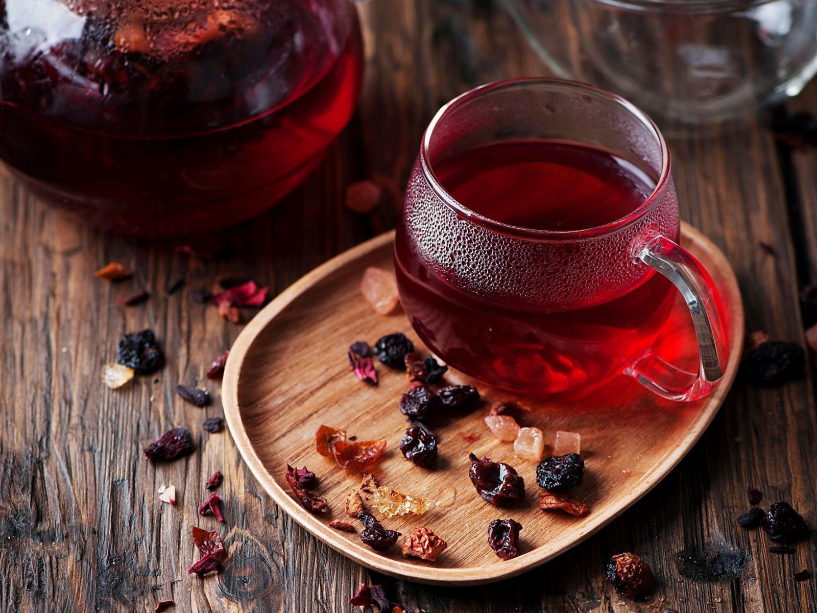 Травяной чай из гибискуса