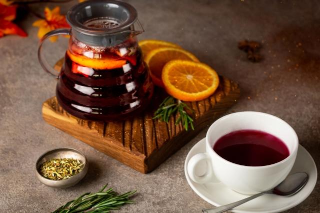 Черносмородиновый чай