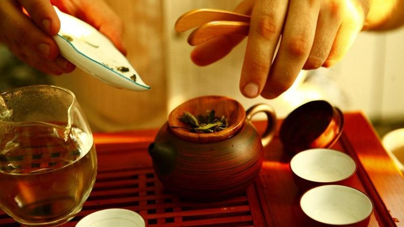 Чайная утварь создает душевную ауру
