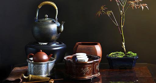 Чайная посуда в Японии: немного истории