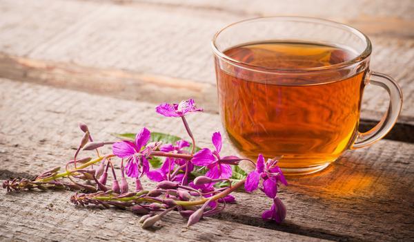Травяной чай из иван-чая