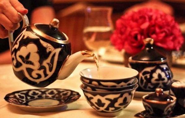 Казахский чай