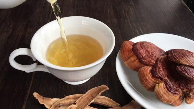 Чай с ганодермой