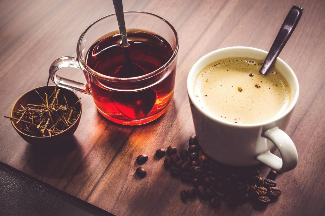 Что лучше для нас: чай или кофе?
