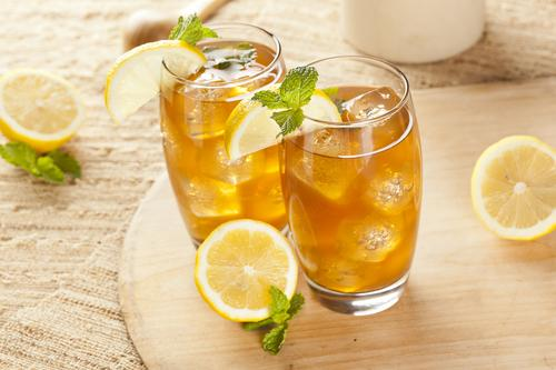 Как сделать холодный чай с лимоном в домашних условиях
