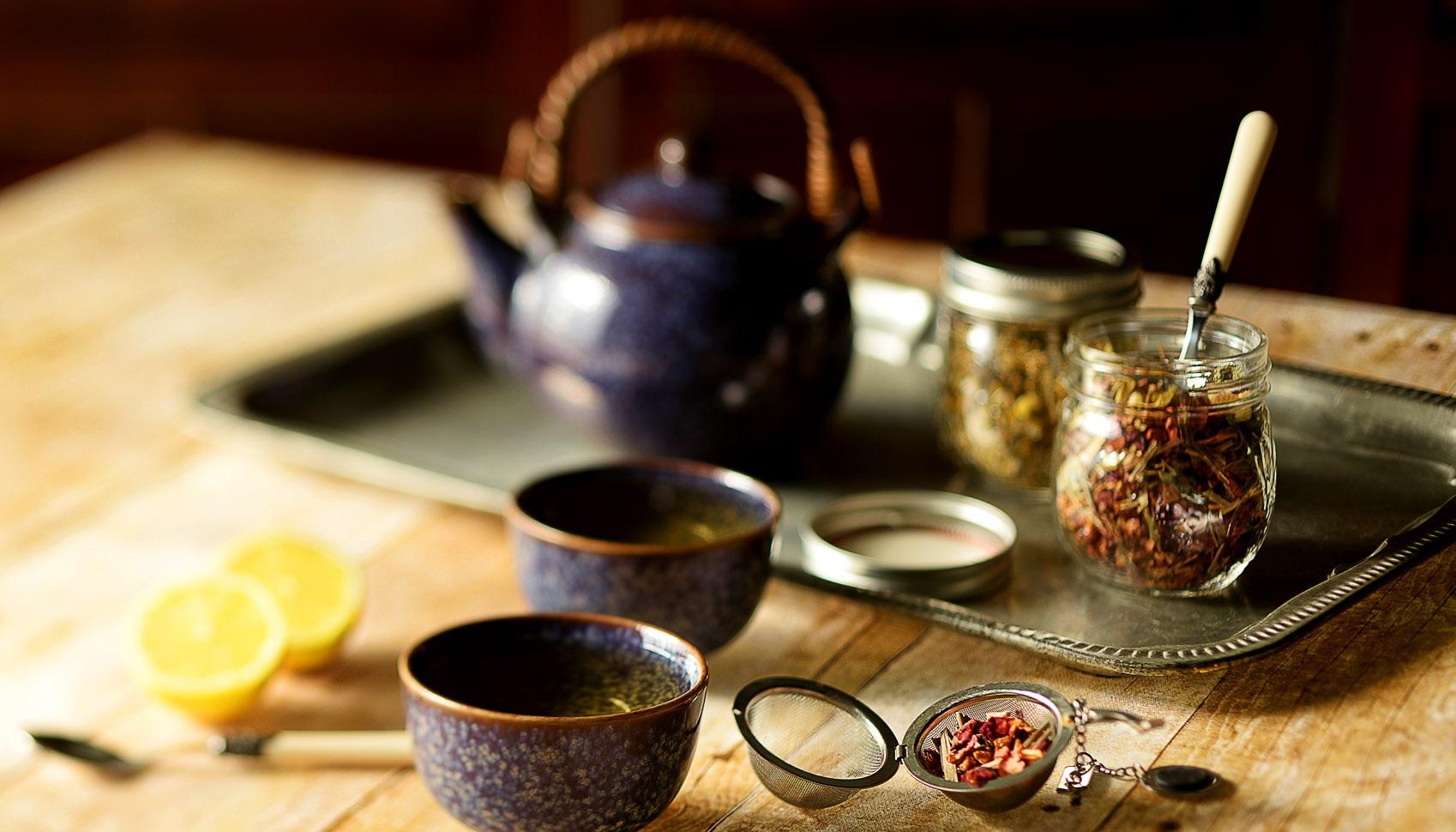 Приготовление чая по-шведски