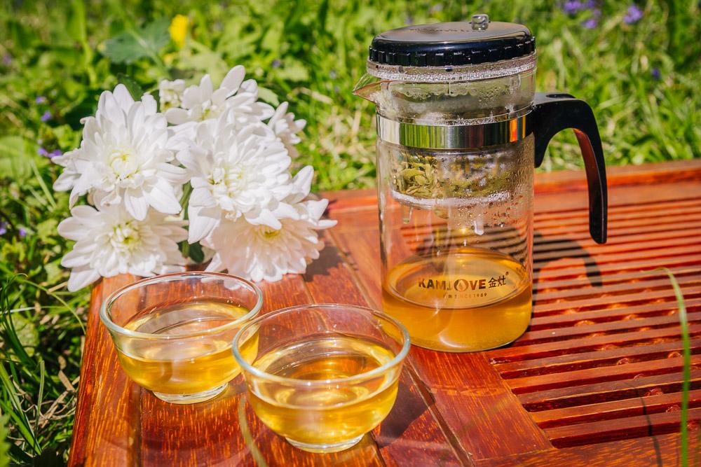 Зеленый чай и здоровая кожа лица