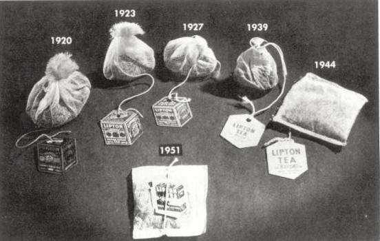Как появился чай в пакетиках?