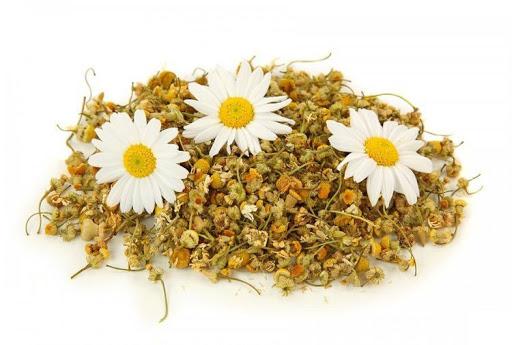 Травяной чай из ромашки