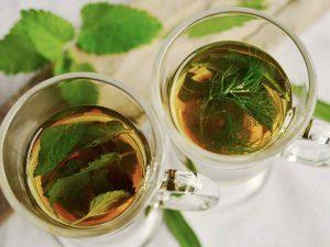 Чай с мятой для похудения и здоровья