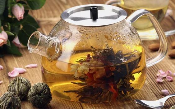 Китайский чай как цветок