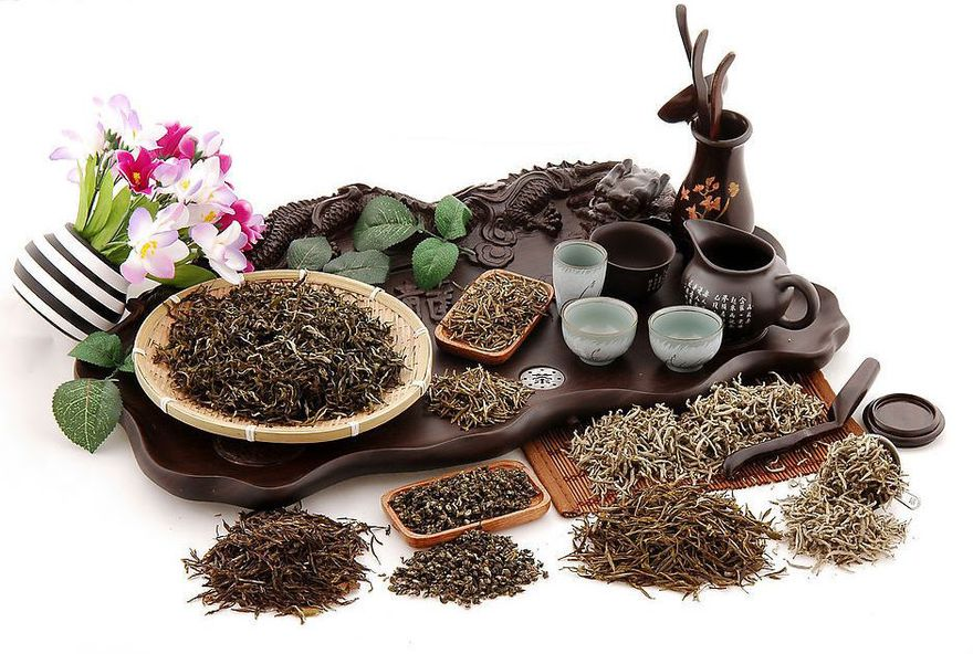 Семь групп китайских чаев