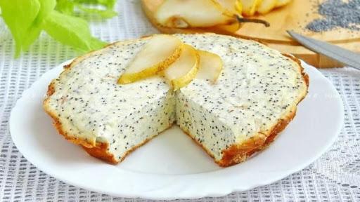Творожно-яблочная запеканка с маком и рецепт ее приготовления