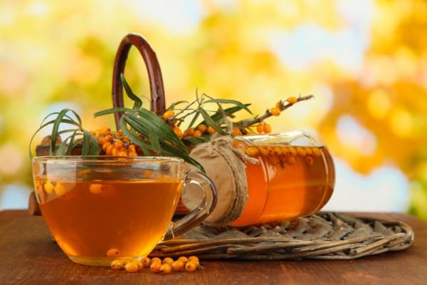 Облепиховый чай с имбирем и специями