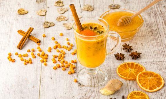 Чай с апельсином и розмарином