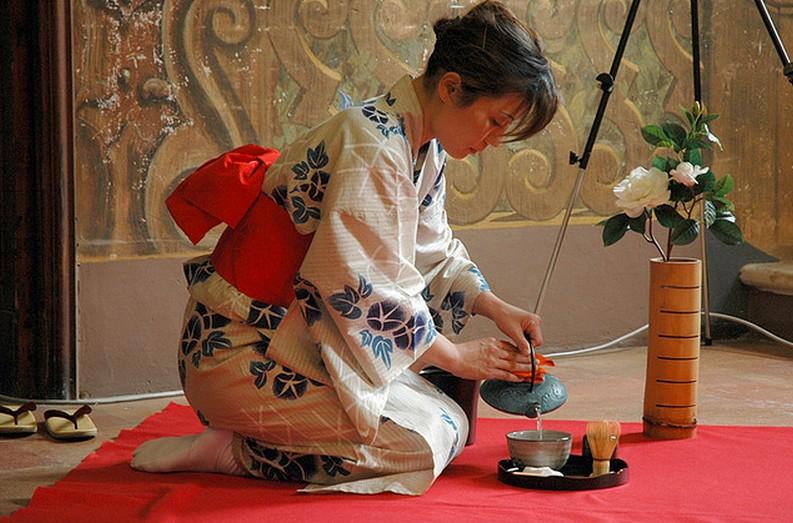 Появление чайных традиций в Японии