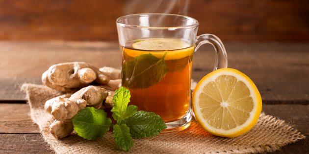 Лимонный чай поможет похудеть