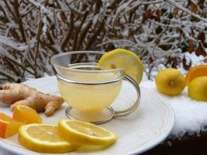 Чай из имбиря для очищения печени и укрепления иммунитета