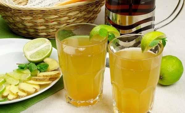 Лимонад из зеленого чая: очищение и похудение