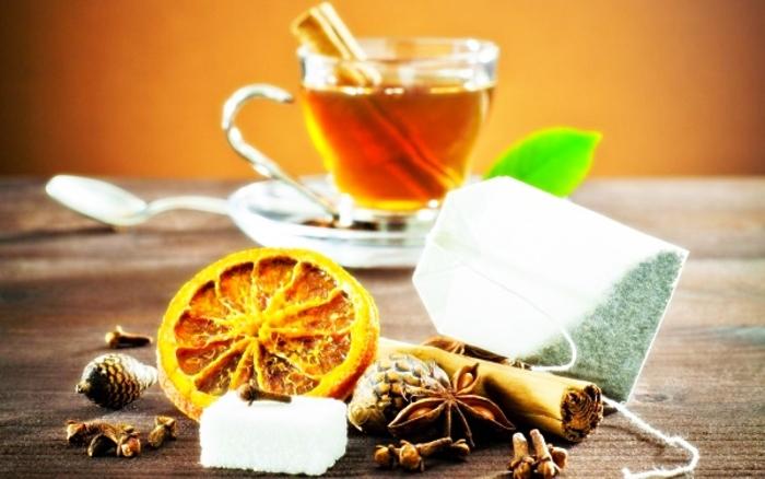 ТОП-5 рецептов холодного чая