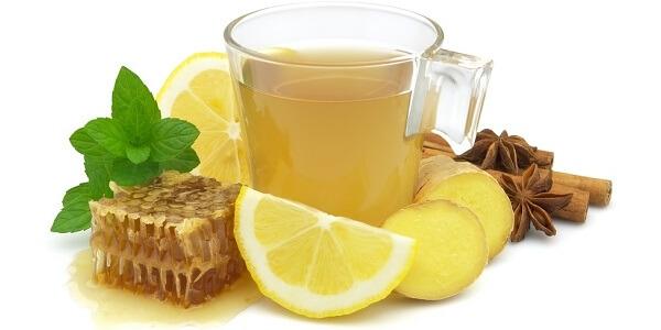 Имбирный чай, настой из полыни и мята при укачивании
