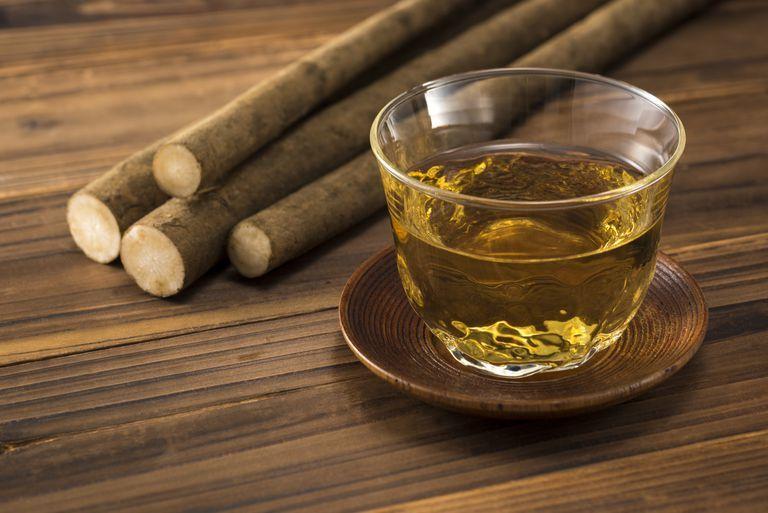 Очищающий чай из корня лопуха для здоровой крови и лимфы