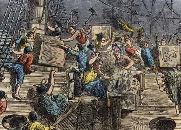 Бостонское чаепитие – первый шаг к независимости