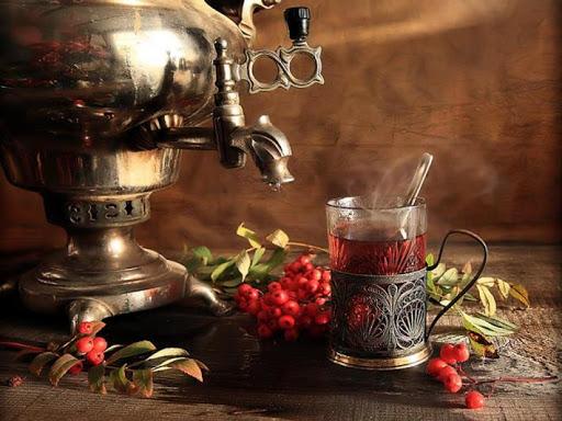 Согревающий чай по-русски