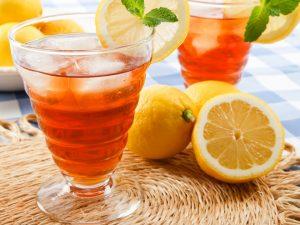 Апельсиновый айс-чай