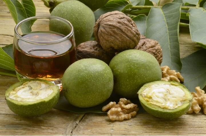 Чай из листьев грецкого ореха для очищения