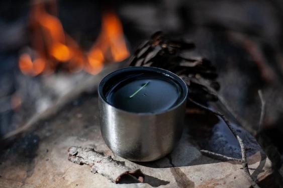 Чай со вкусом костра, бардовской песни и упавшего в котелок муравья