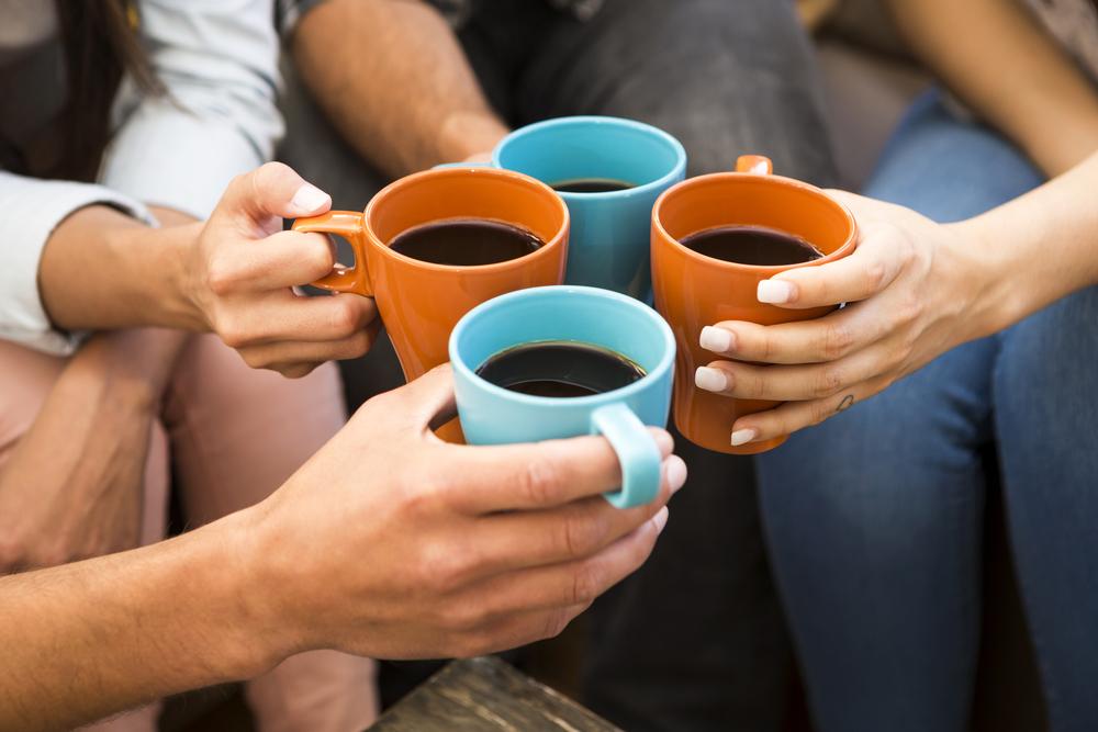 Чай, кофе и красное вино полезны для микрофлоры