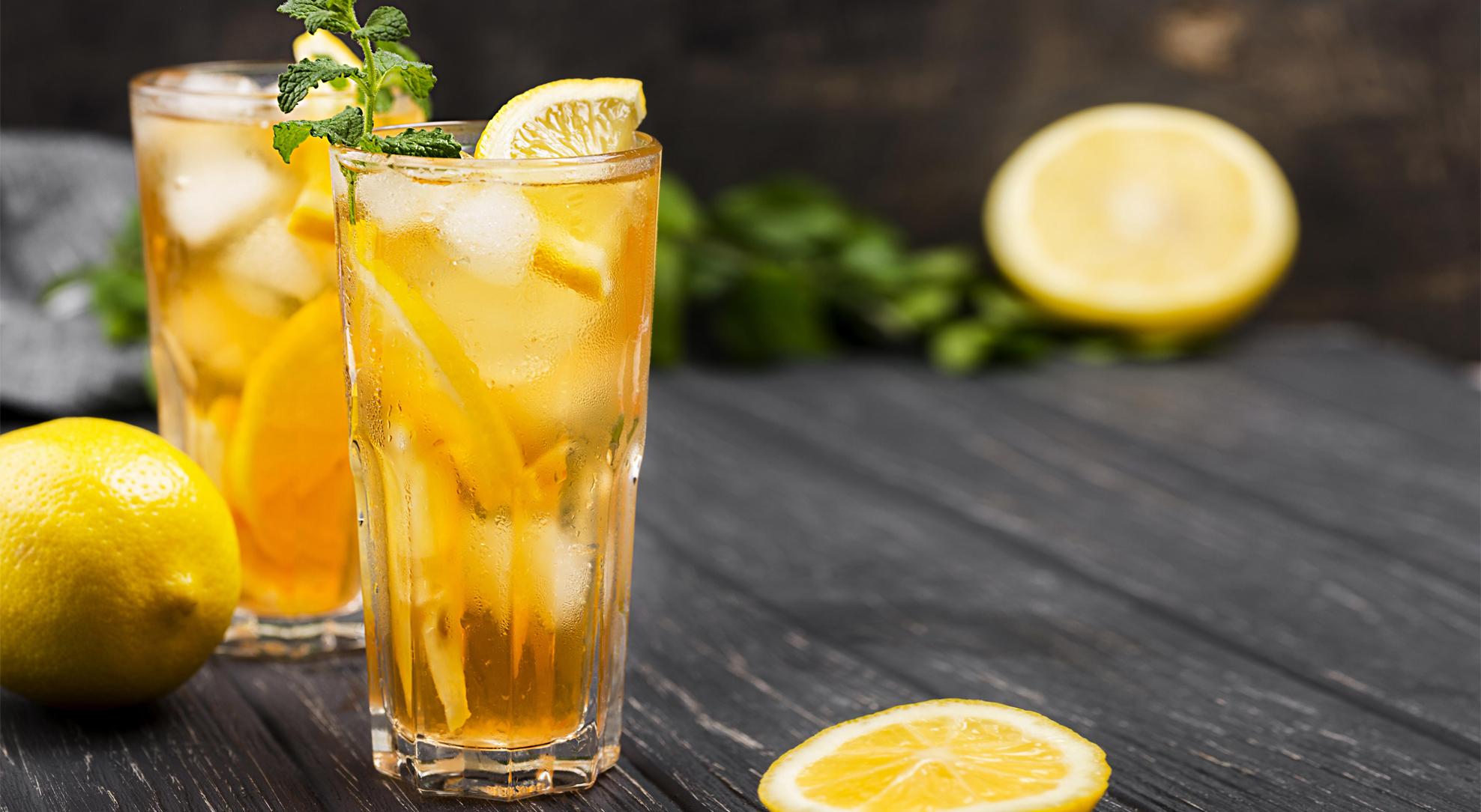 Чай каркаде колд брю с апельсином